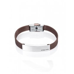 "PULSERA VICEROY FASHION ACERO IP MARRON,  PROFESOR/MAESTRO ""AL MEJOR  PROFE"" 6423P01011"